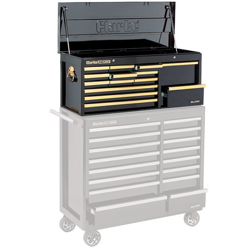 Clarke CBB224BGB Extra Large HD Plus 14 Drawer Tool Chest