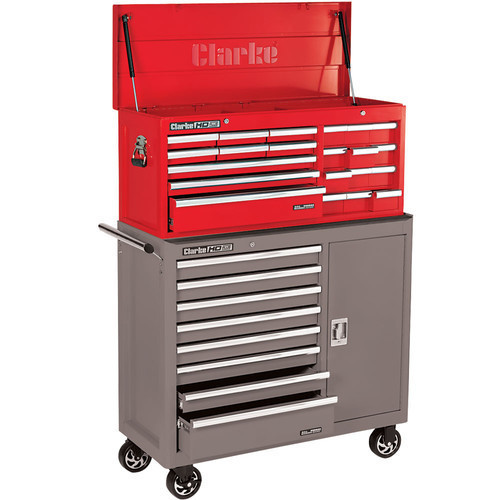 Clarke CBB229B Extra Large HD Plus 21 Drawer Tool Chest